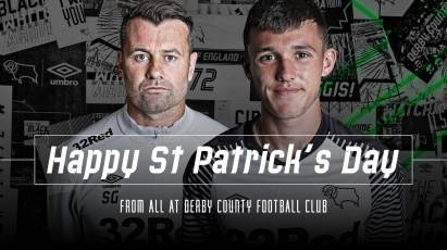 Happy St. Patrick's Day From Derby County Football Club!