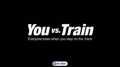 You vs Train: An Important Message From Derby County Football Club