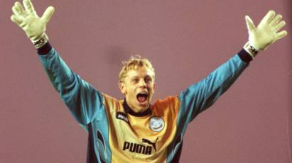 Snapshot In Time: Mart Poom Signs For The Rams 23 Years Ago