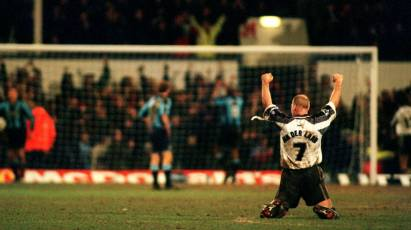 Snapshot In Time: van der Laan Celebrates Derby's FA Cup Victory
