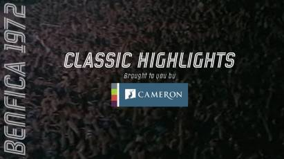 Cameron Homes Classic Highlights: Derby County Vs Benfica (1972)