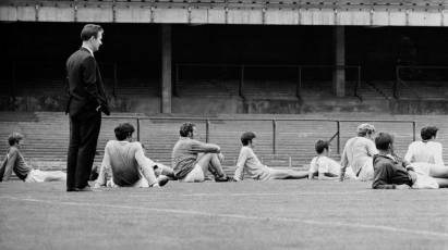 Snapshot In Time: Clough Oversees Training With The Rams