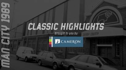 Cameron Homes Classic Highlights: Derby County Vs Manchester City (1989)