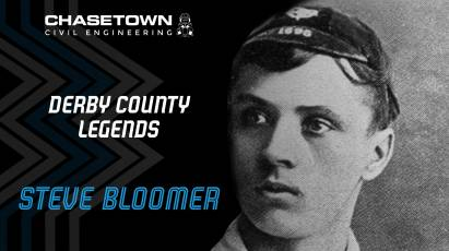 Derby County Legends Series: Steve Bloomer