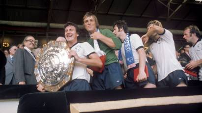 Snapshot In Time: McFarland's All Smiles As Derby Get Their Hands On The Charity Shield