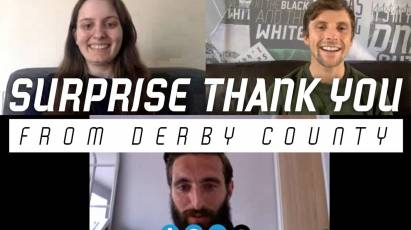 Surprise Thank You To Derby County Supporter And Key Worker Amelia Murphy