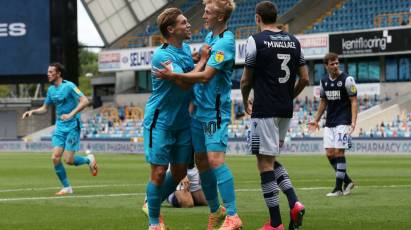 Sibley Hits Hat-Trick As Derby Defeat Millwall At The Den