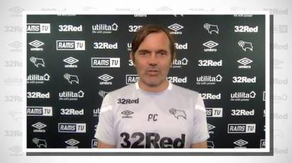 Cocu Looks Ahead To Derby's Home Fixture Against Reading On Saturday