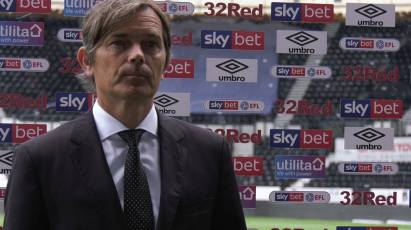 Cocu Offers His Verdict On Derby's Win Over Reading