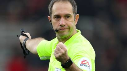 Ref Watch: Simpson To Oversee Derby's Clash At West Bromwich Albion