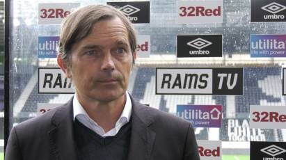 Cocu Gives His Reaction To Derby's Late Draw With Forest