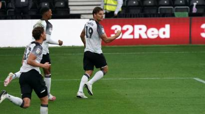 Match Gallery: Derby County 1-1 Nottingham Forest