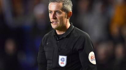 Ref Watch: Bond The Match Referee For Derby's Trip To Cardiff