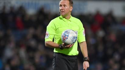 Langford Appointed As Referee For Derby's Midweek Fixture Against Cardiff