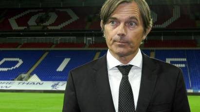 Cocu Gives His Take On Derby's Loss At Cardiff