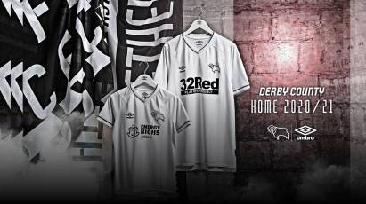 Purchase Derby County's New 2020/21 Umbro Home Kit Now!