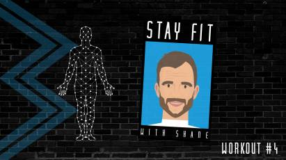 Stay Fit: Former Defender Shane Nicholson Provides Fitness Workout