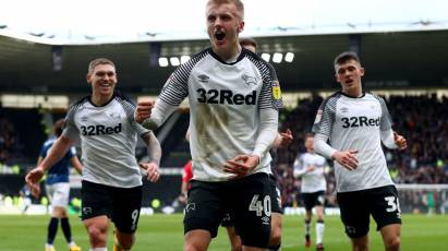 Sibley's Strike Against Blackburn Wins The 2019/20 Derby County Goal Of The Season