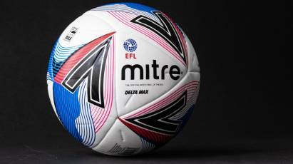 Prepare To Be Mesmerised EFL And Mitre Reveal New Delta Max Football For 2020/21 Season