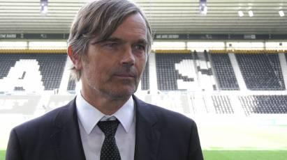 Cocu Reacts To Derby's Shoot-Out Success Against Barrow