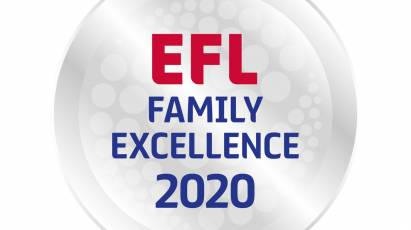 Derby County Awarded Family Excellence Status For 2019/20 Season
