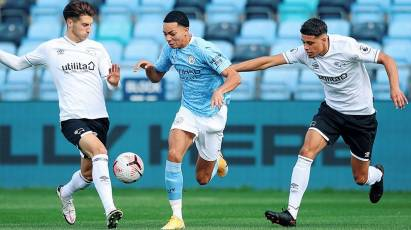 U23 Highlights: Manchester City 3-3 Derby County