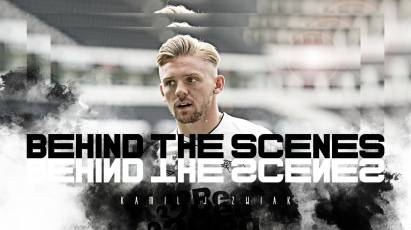 Behind The Scenes: Kamil Jozwiak Joins Derby County