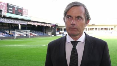 Cocu Reviews Luton Town Defeat