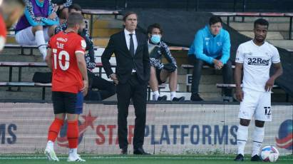 Cocu Admits Derby Need To Defend Better Following Luton Loss
