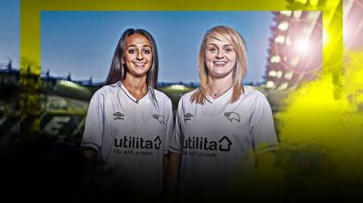 Utilita Energy Confirmed As Derby County Women's New Shirt Sponsor