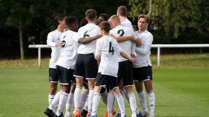 U18s To Face Cardiff City Under The Lights At Pride Park