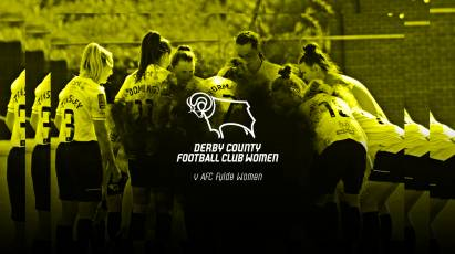 Support Derby County Women Against AFC Fylde Women This Sunday