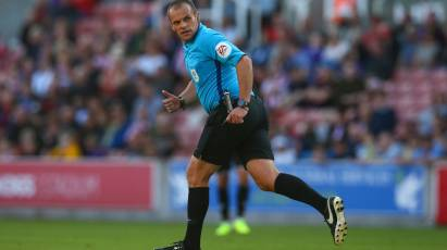 Eltringham To Take Charge Of Derby's Game At Preston North End