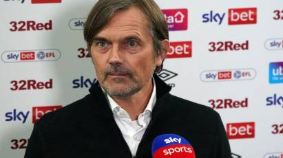 "Cocu: ""The Lads Are Very Disappointed As They Worked So Hard"""
