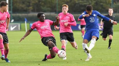 U23s Taste Defeat At Chelsea Despite A Brilliant Display