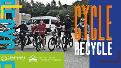 Community Trust Help To Stage 'Cycle Recycle' Later This Month