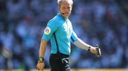 Ward To Take Charge Of Derby's Home Fixture Against Swansea