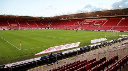 New Kick-Off Time For Middlesbrough Trip