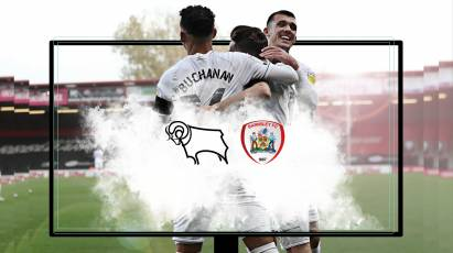 Watch From Home: Derby County Vs Barnsley LIVE On RamsTV - Important Information Ahead Of Saturday's Game