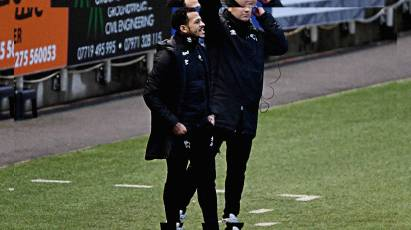 """Rosenior: """"It Hurts That We Lost The Game"""""""