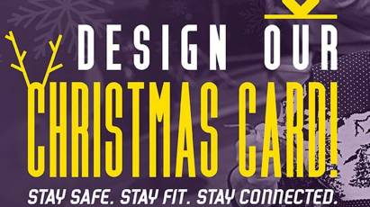 Could You Design Derby County Community Trust's Official Christmas Card?