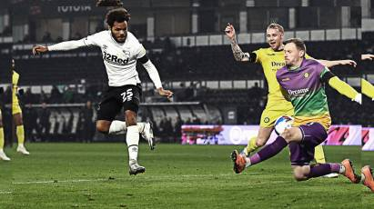 FULL MATCH REPLAY:  Derby County Vs Wycombe Wanderers