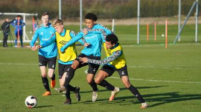 IN PICTURES: U18s Hard At Work Ahead Of Friday's Youth Cup Clash With Cardiff