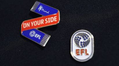 On Your Side – Wear Your Club Badge With Pride For Better Mental Health