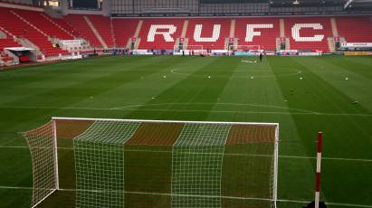 Rotherham United Away Fixture Re-Arranged