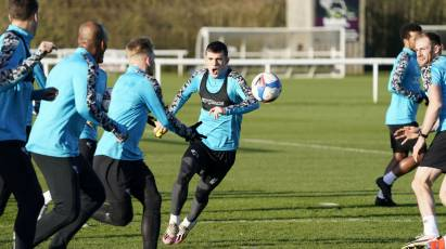 IN PICTURES: Rams Put In Preparations Ahead Of Swansea Test