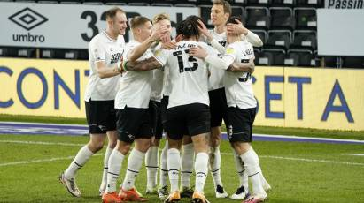 Match Gallery: Derby County 2-0 Swansea City