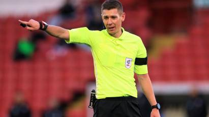 Donohue To Take Charge Of Derby's Home Game Against Middlesbrough