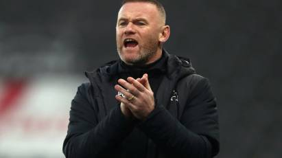 Rooney Eyeing A Positive Christmas On The Pitch For Derby