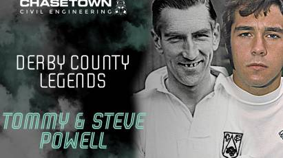 Derby County Legends Series: Steve And Tommy Powell